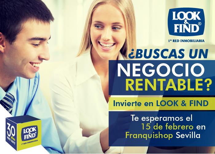 LOOK & FIND acudirá a Franquishop Sevilla